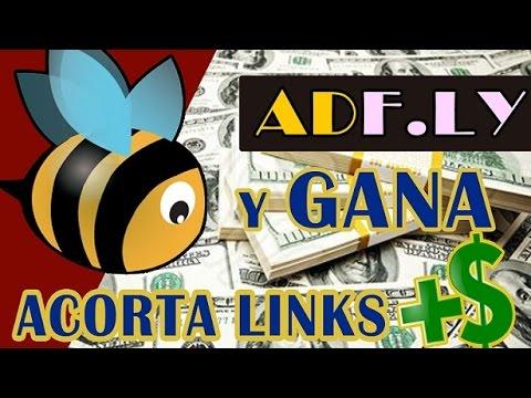 GANA DINERO ACORTANDO LINK's CON ADF.LY – DINERO POR INTERNET 360